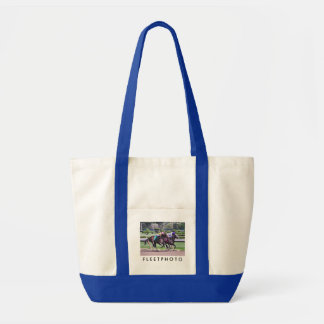 RACING FROM HISTORIC SARATOGA TOTE BAGS