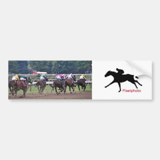 Racing from Historic Saratoga Race Course Bumper Stickers