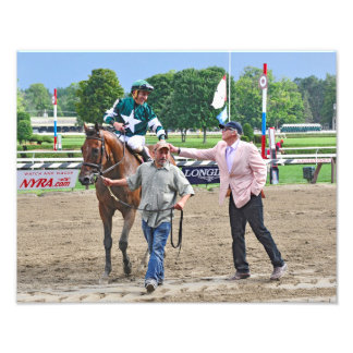 Racing from Saratoga Art Photo