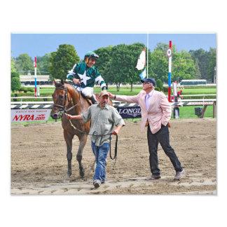 Racing from Saratoga Art Photo
