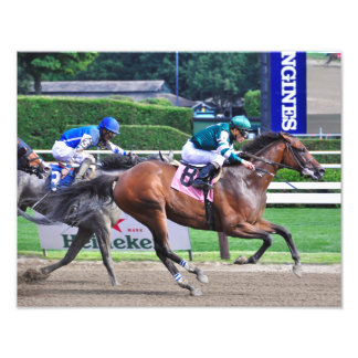 Racing from Saratoga Photo Print