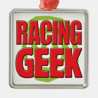 Racing Geek Christmas Ornament