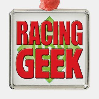 Racing Geek v2 Christmas Ornaments