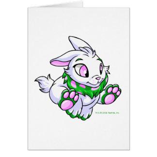 Racing green Cybunny Greeting Card