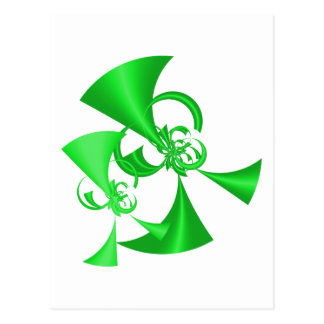 Racing Green Horns Post Card