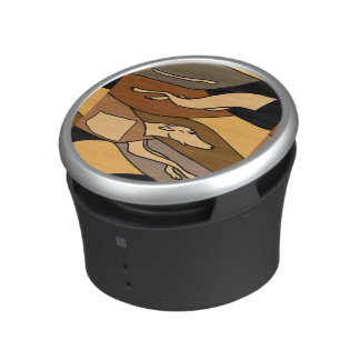 Racing Greyhound Art Abstract Bluetooth Speaker