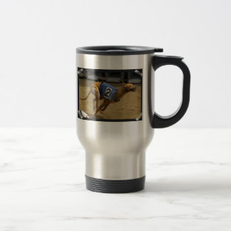 Racing Greyhound Stainless Steel Travel Mug