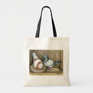 Racing Homers Home Life Budget Tote Bag