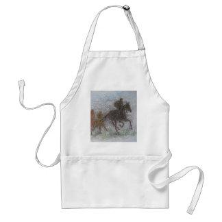racing horse apron