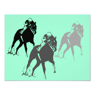 Racing Horses race Kentucky Derby Party Invitation