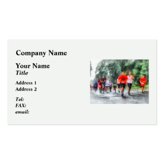 Racing in the Rain Business Card Templates