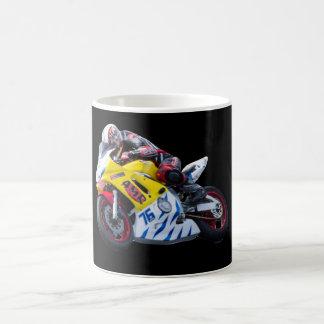 Racing motorcycle mugs