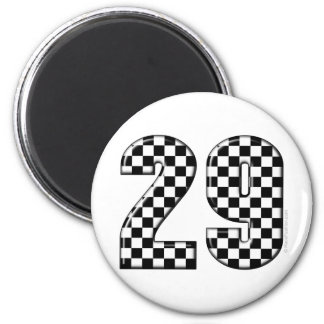 racing number 29 magnet