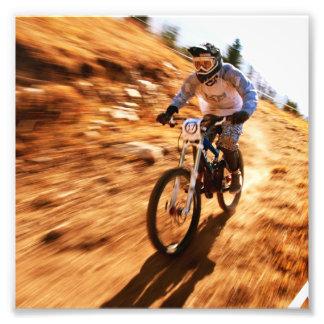 Racing Offroad Dirtbike Photo Print