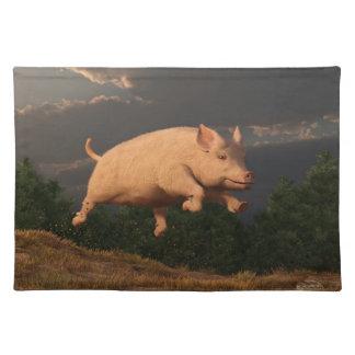 Racing Pig Placemats