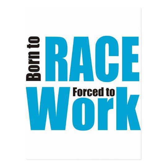 racing postcard