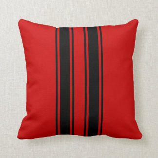Racing Stripes Cushion