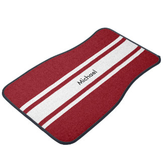 Racing Theme Car Mat