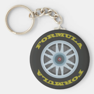 Racing Tyre Keychain
