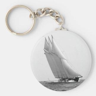 Racing Yacht Atlantic, 1904 Key Ring