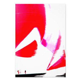 Racing yacht poster art photo