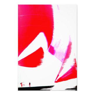 Racing yacht poster art photo
