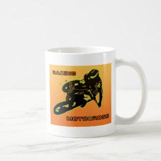 RACINGMOTOCROSSamarillo Basic White Mug