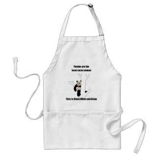 Racist panda apron