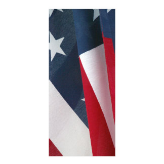 Rack card American Flag