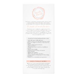 Rack Cards for Lancaster Placenta Co.