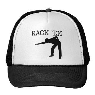 Rack 'Em Billiards Trucker Hat