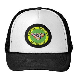 RACK 'EM - CRACK 'EM AND RUN 'EM CAP