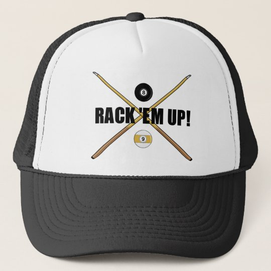 Rack 'Em Up hat