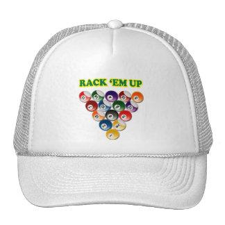 RACK 'EM UP MESH HATS