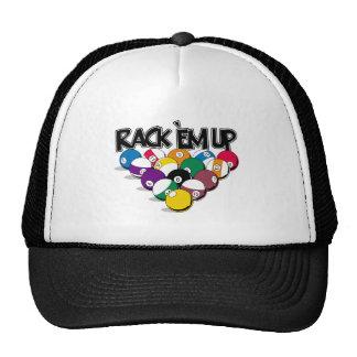 Rack Em Up Pool Cap