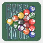 Rack Em Up Stickers