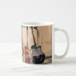 Rack Of Guitars Coffee Mug