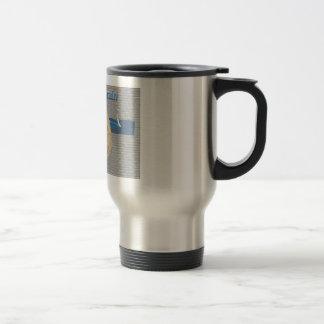 Rack Your Brain Stainless Steel Travel Mug
