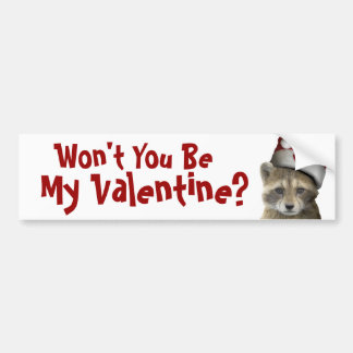 Racket's Valentine's Day Products - Mult Products Bumper Sticker