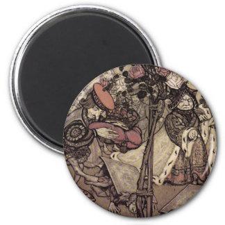 Rackham s Alice In Wonderland Fridge Magnets