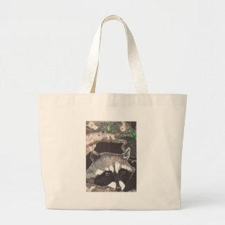 Racoon Canvas Bag