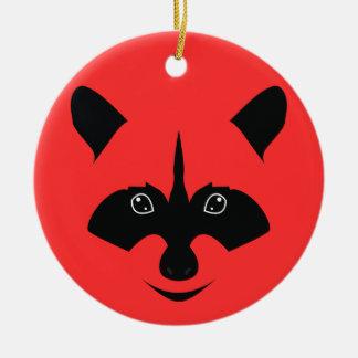 Racoon Christmas Ornament