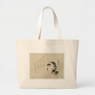 Racoon-dog (Tanuki) by Shibata Zeshin Jumbo Tote Bag