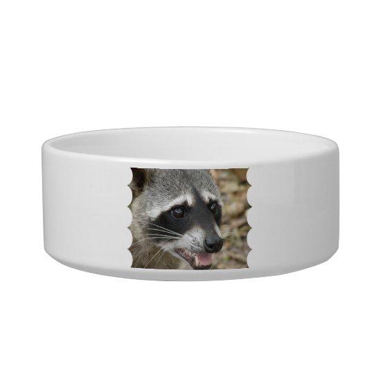 Racoon Face Pet Bowl