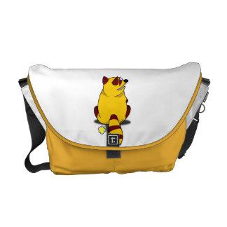 Racoon Fart Messenger Bag