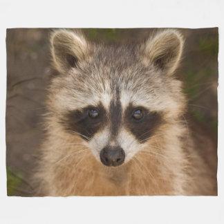 Racoon Fleece Blanket
