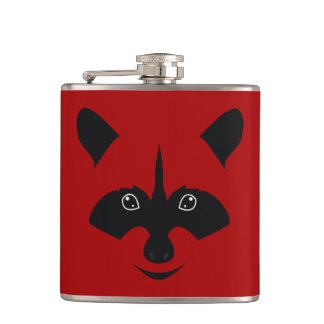 Racoon Hip Flask