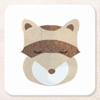 Racoon Icon Coaster