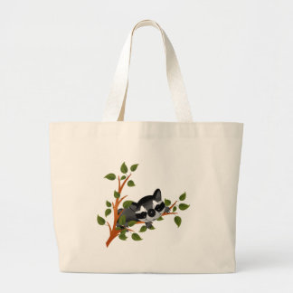 Racoon in a Tree Tote Bags