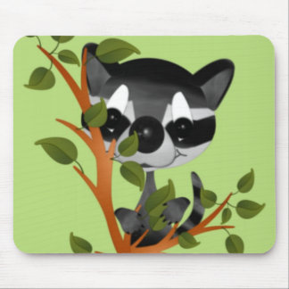 Racoon in a Tree Mousepad